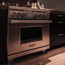 sub zero oven fornuis