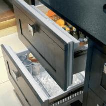 sub zero koelkast lade