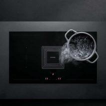 barazza kookplaat met afzuiging