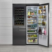 koelkast vriezer en wijnkoelkast