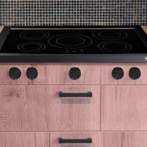 steel cucine kookplaat